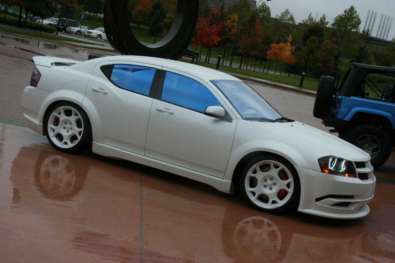Check out this pure white beauty d 2013 dodge avenger