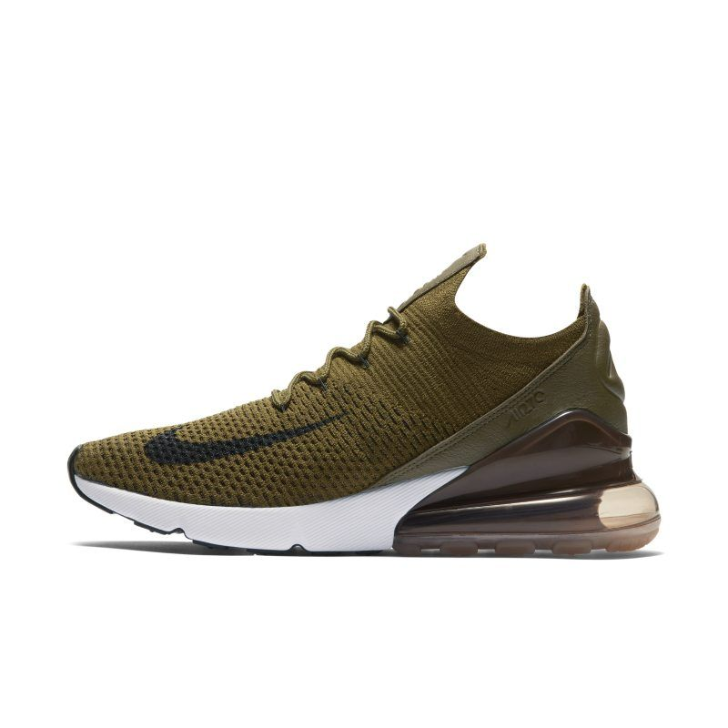 free shipping 9a47b 904ba Nike Air Max 270 Flyknit Men's Shoe - Green | Products ...