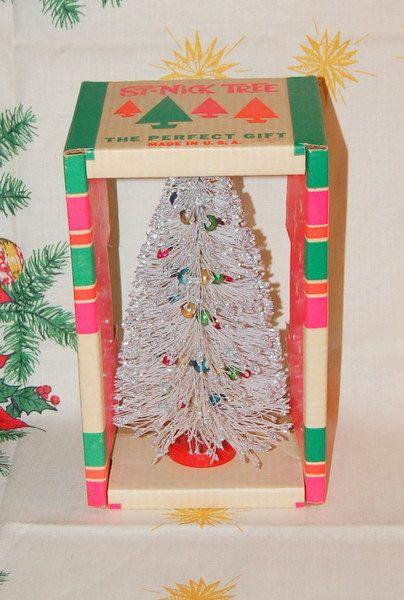 Vintage St Nick Tree Vintage Christmas Kitsch by WaikikiKitsch