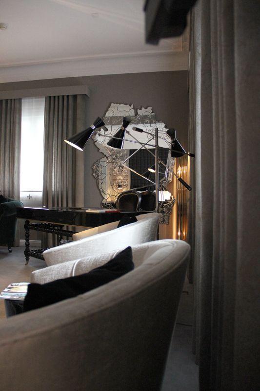 Boca do Lobo Suite @ Hotel Infante Sagres, Porto - Portugal #50shadesofgrey #fiftyshadesofgrey #bocadolobo #suite #decor #hotel #home