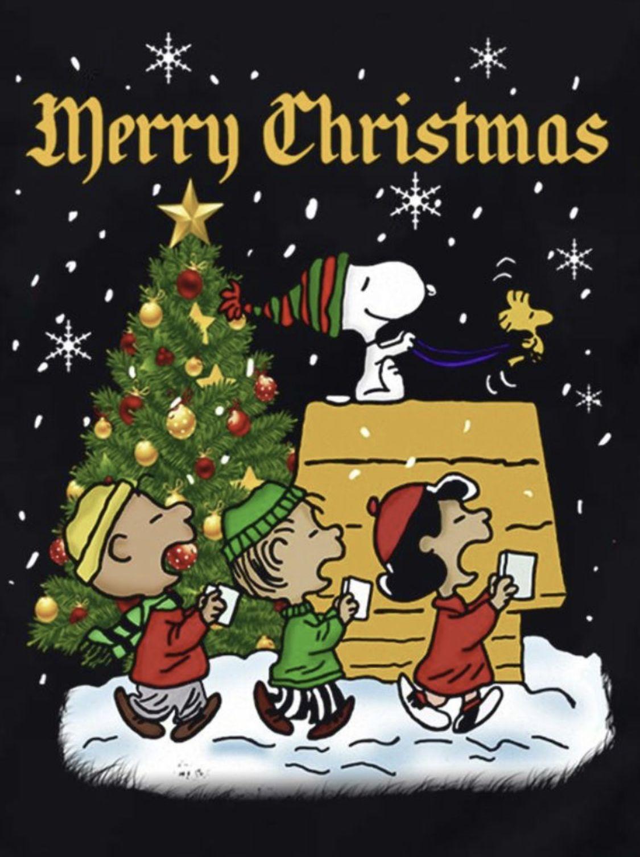 Merry Christmas Merry Christmas Charlie Brown Snoopy Christmas Peanuts Christmas