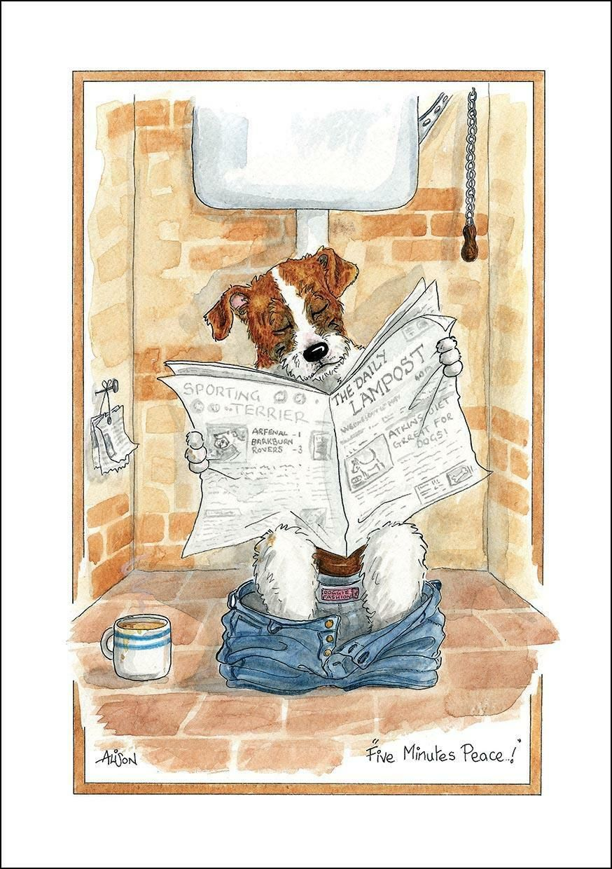 Black Labrador Funny Dog Lovers Drinks Coaster Mug Mat by Alison/'s Animals Gift