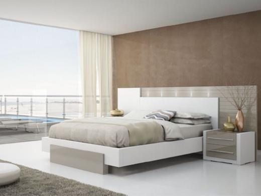 Pianca mobiliario dormitorio con luces led historias y - Mobiliario minimalista ...