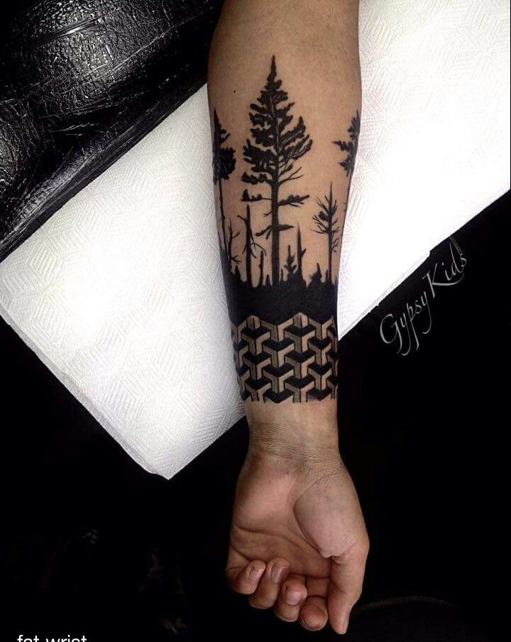 Bosque Me Gusta Mucho Tatuajes Creativos Tatuajes Escritos