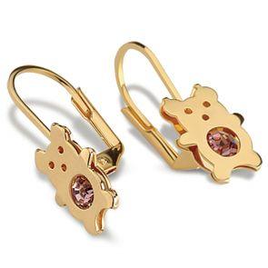 Pendientes ratón - G24657 11,00€  Pendientes ratón cierre ballesta, gold filled. Dimensiones: 23,2mm x 9,2mm, peso 0,9gr.
