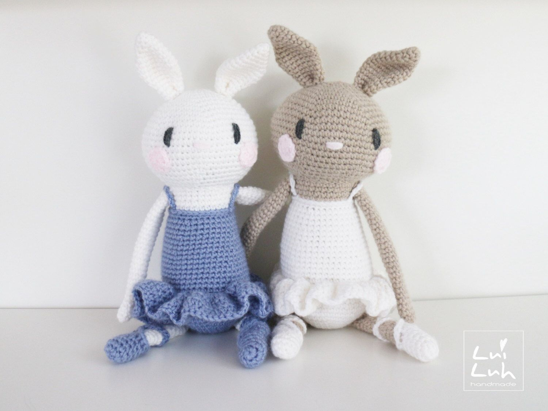Amigurumi crochet pattern * LuiBunny * LuiLuh.handmade ballet bunny ...