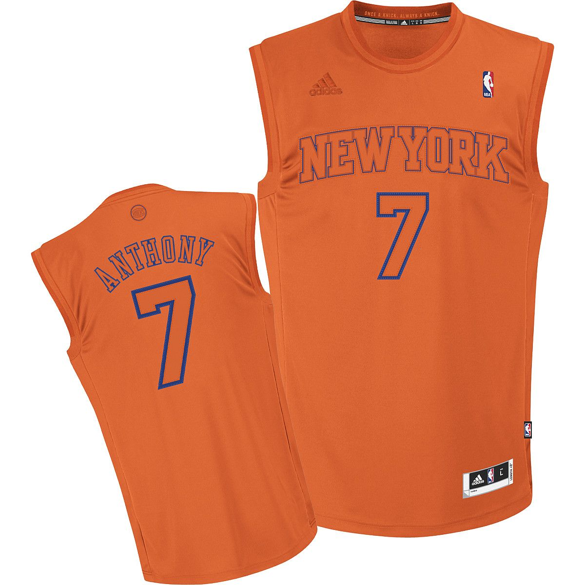 BIG color NY Knicks Christmas jersey | Looks I like in Men ...
