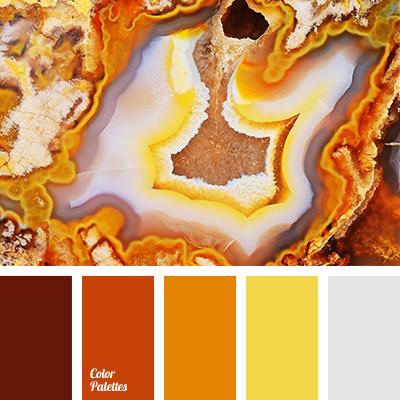Autumn Color Palette Beige Bright Yellow Brown Colour Combination Of Sicilian Orange Leaves Solution