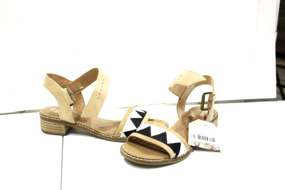 b9fd2f50387 s-1235 TOMS Camilia Women s Sandals Honey Leather Black Tribal size 5.5 US   fashion  clothing  shoes  accessories  womensshoes  sandals (ebay link)