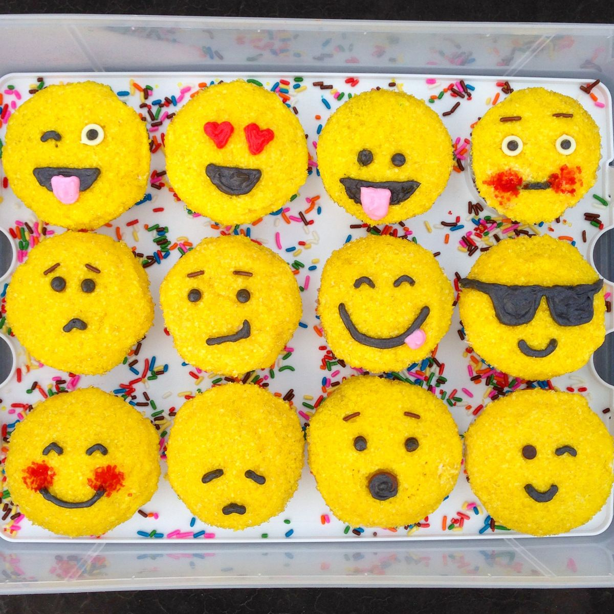 Emoji cupcakes how are you feeling today p banana cupcakes emoji cupcakes how are you feeling today p banana cupcakes with a biocorpaavc