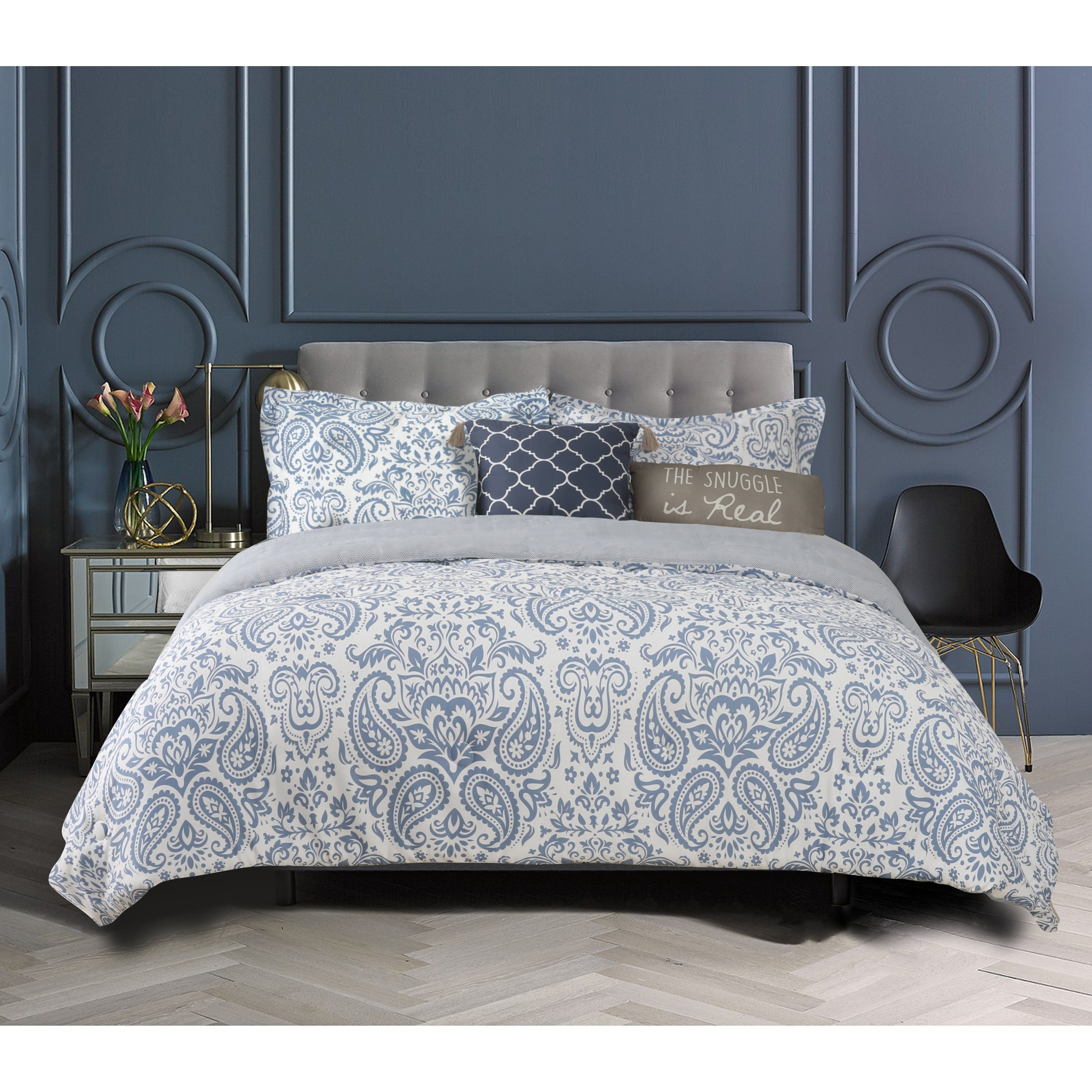 The Curated Nomad Wetmore 5piece Cotton Comforter Set in