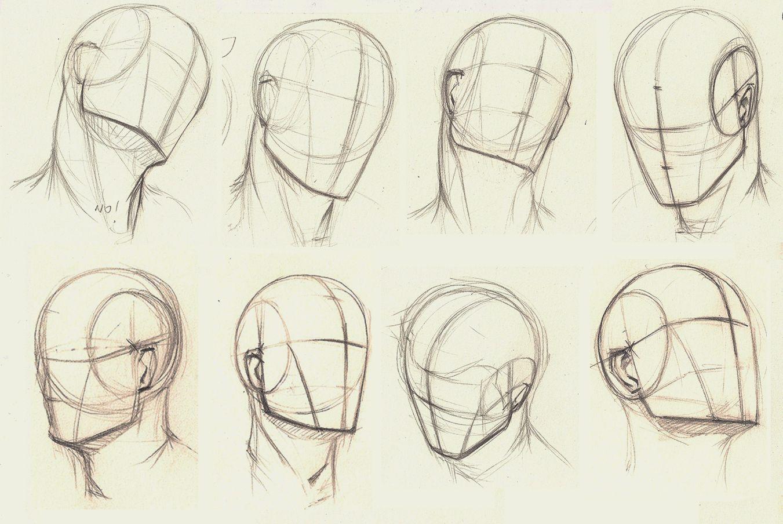 Skull And Head Turnaround