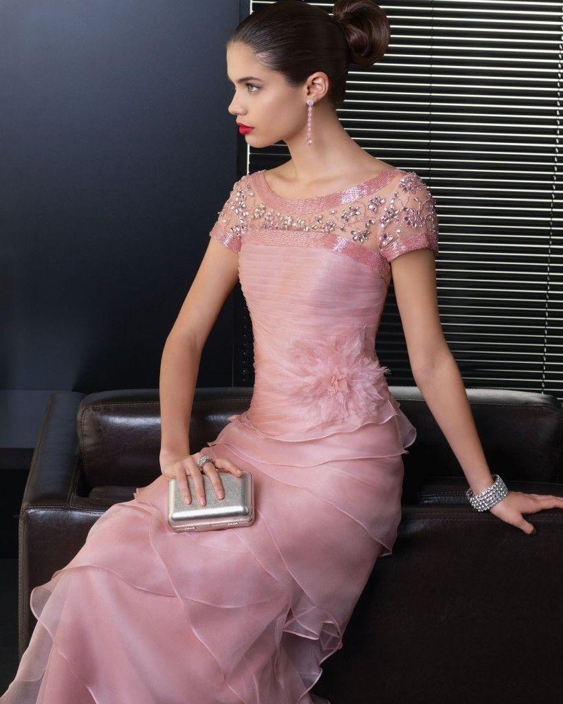 vestidos de fiesta (11) | Alta Costura | Pinterest | Elegante ...