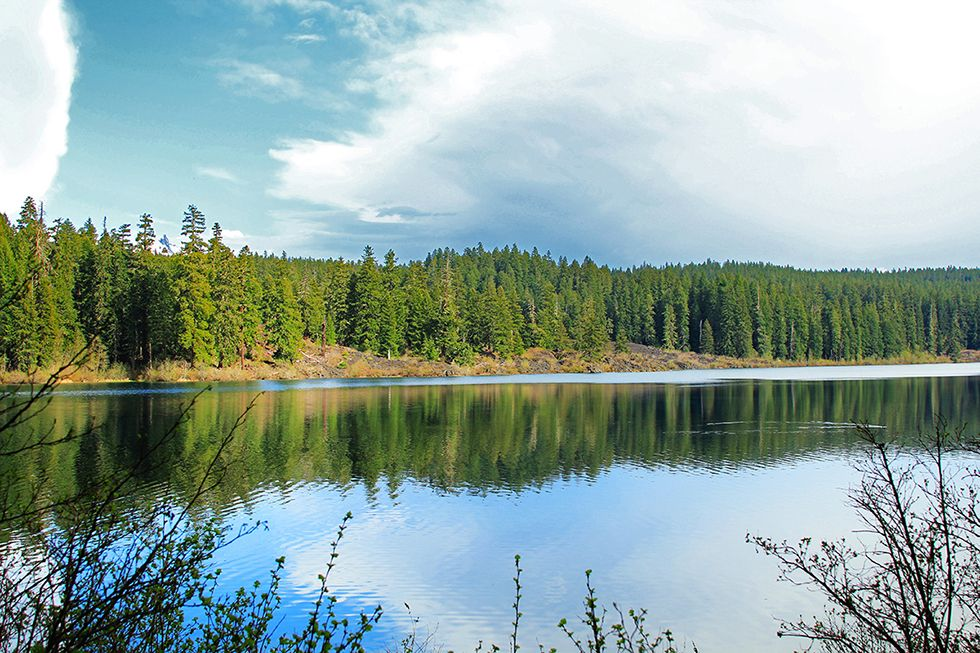 Photographing Oregon: Clear Lake