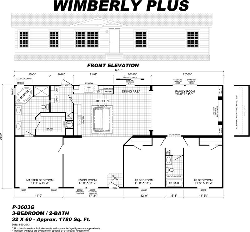 Wayne frier mobile homes floor plans flooring ideas and for Mobile home floor plans florida