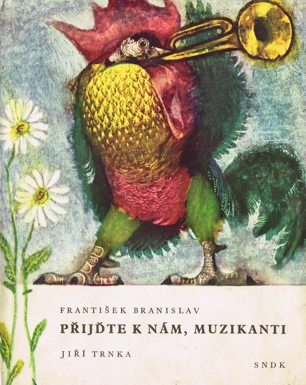 children's book illustrations: Přijďte k nám, muzikanti