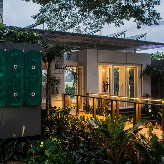 """Ambiente """"Casa Aqua"""", por Mindlin Loeb+Dotto Arquitetura para Casa Cor SP 2016! Confira mais fotos no Portal MiMostra!"""