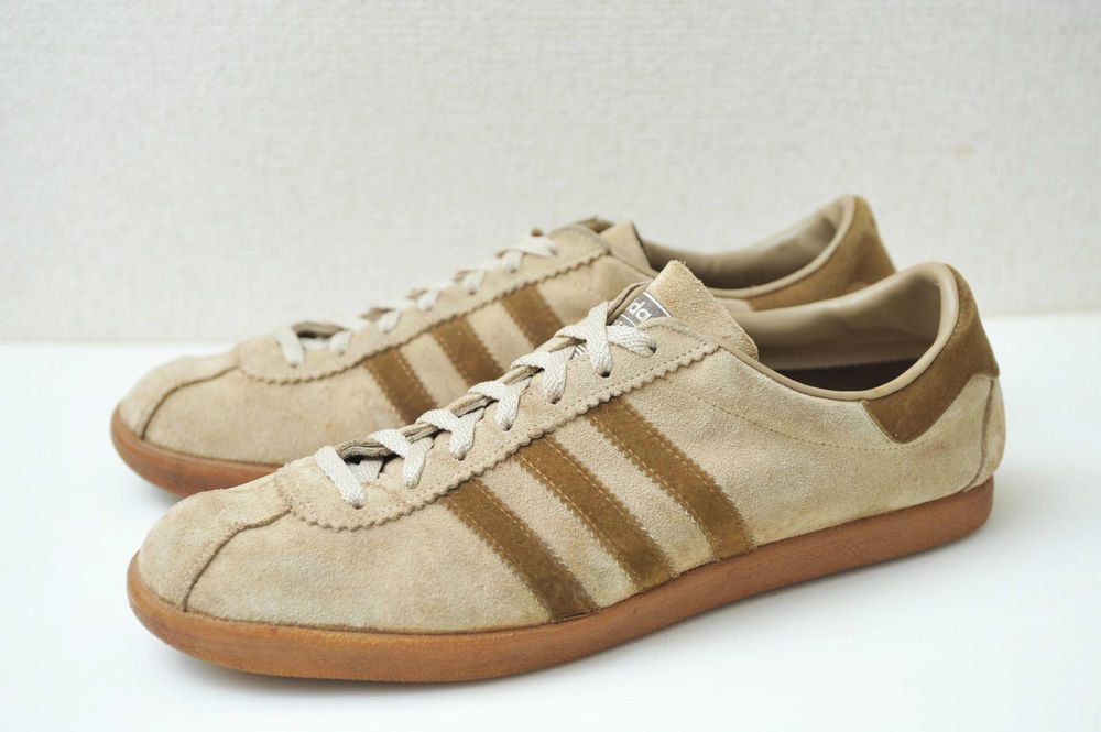 buy online 96f2c c64b8 Adidas 70s RIVIERA made in FRANCE Vintage west germany 80s tobacco  amsterdam 10 £822.55 (18B)
