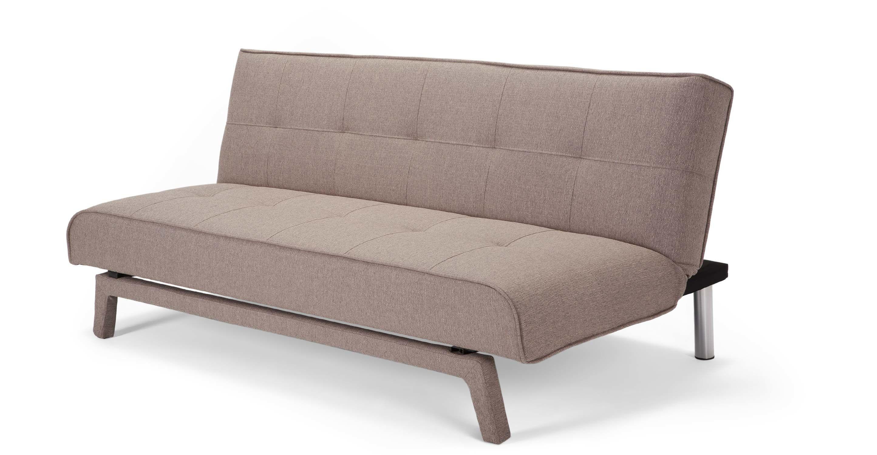 Yoko Un Canape Convertible Beige Toute Petite Chambre Sofa