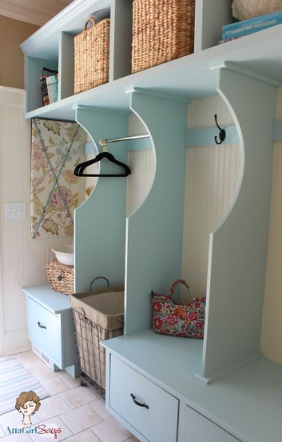 organized cottage style laundry room and mudroom renovation closet home decor laundry rooms storage ideas Laundry Room and Mudroom Storage Built in ... & Organized Cottage Style Laundry Room and Mudroom Renovation ...