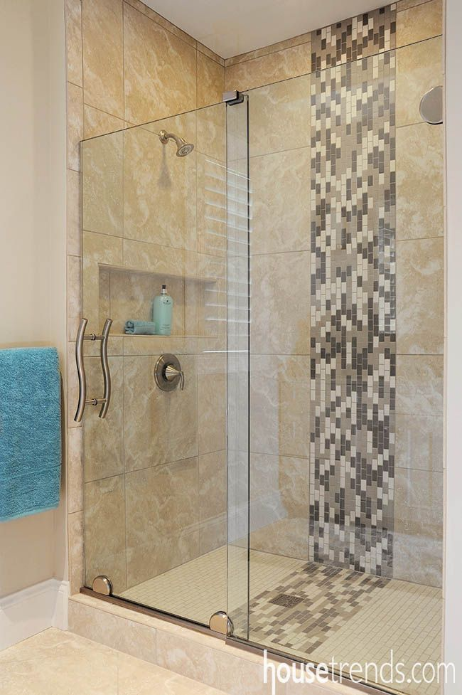 Shower Designs Push The Envelope Shower Tile Patterns Mosaic