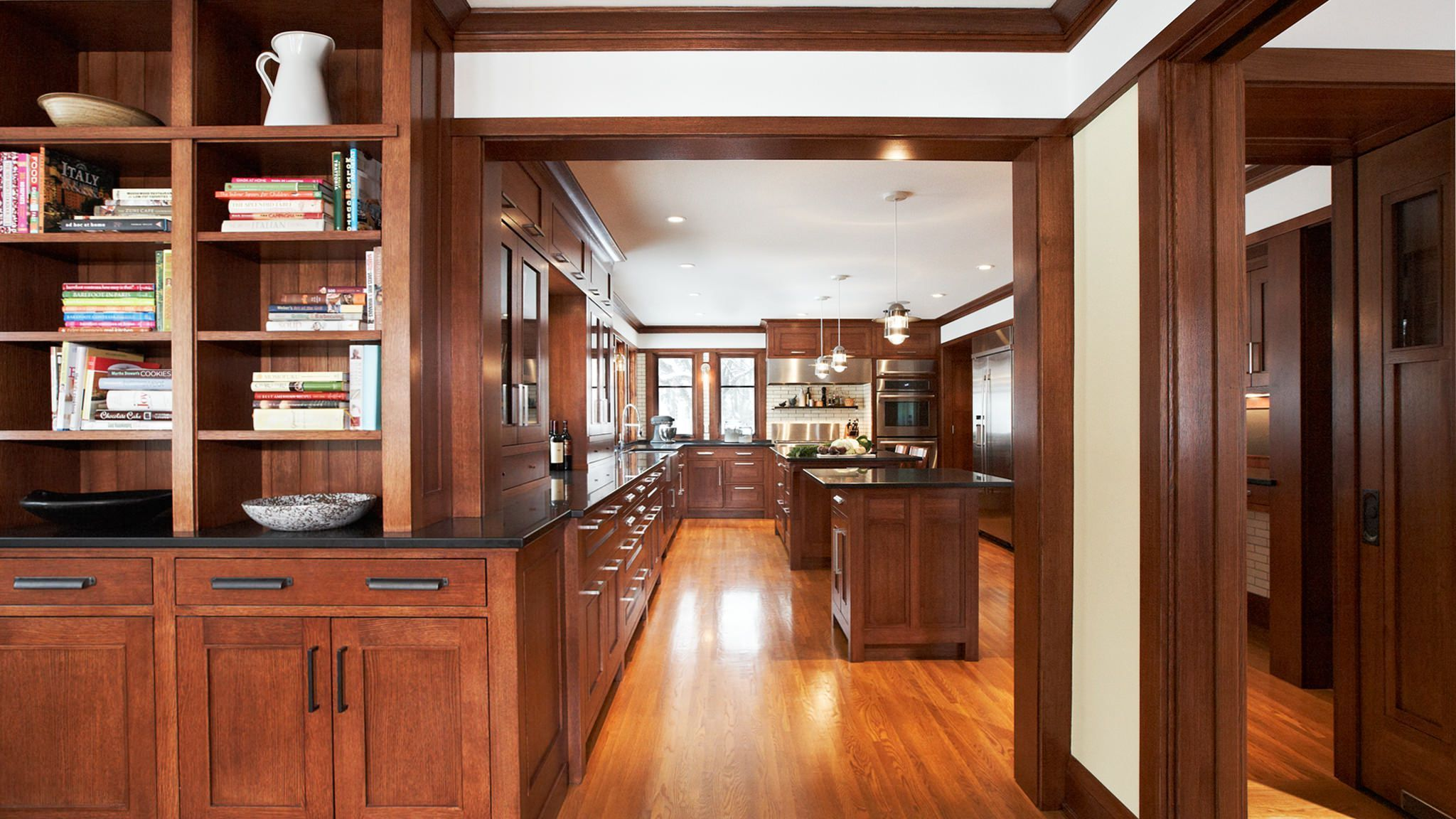 Modern arts and crafts kitchen design | Arts and crafts ...