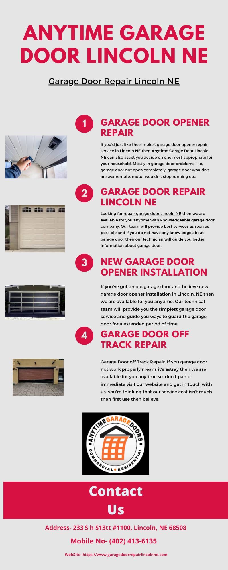 Garage Door Repair Lincoln Ne In 2020 Garage Door Opener Repair Garage Doors Garage Door Repair