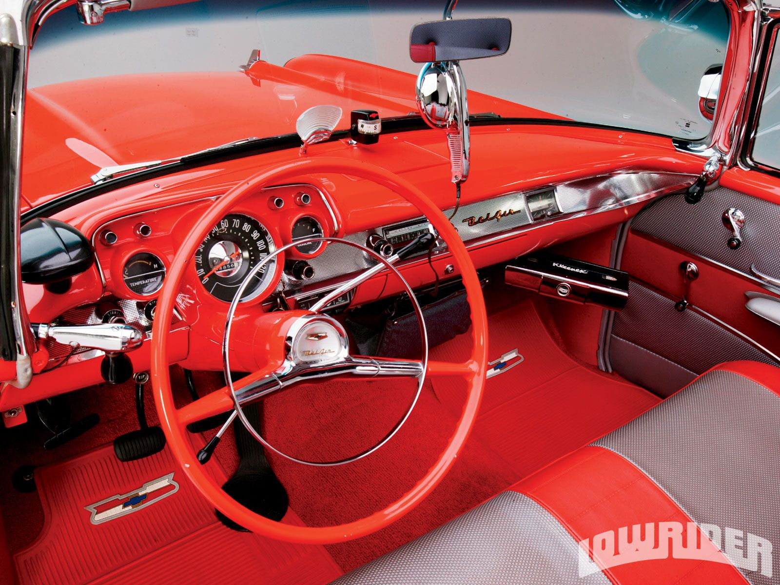 Cool  Chevy Bel Air Convertible Steering Wheel