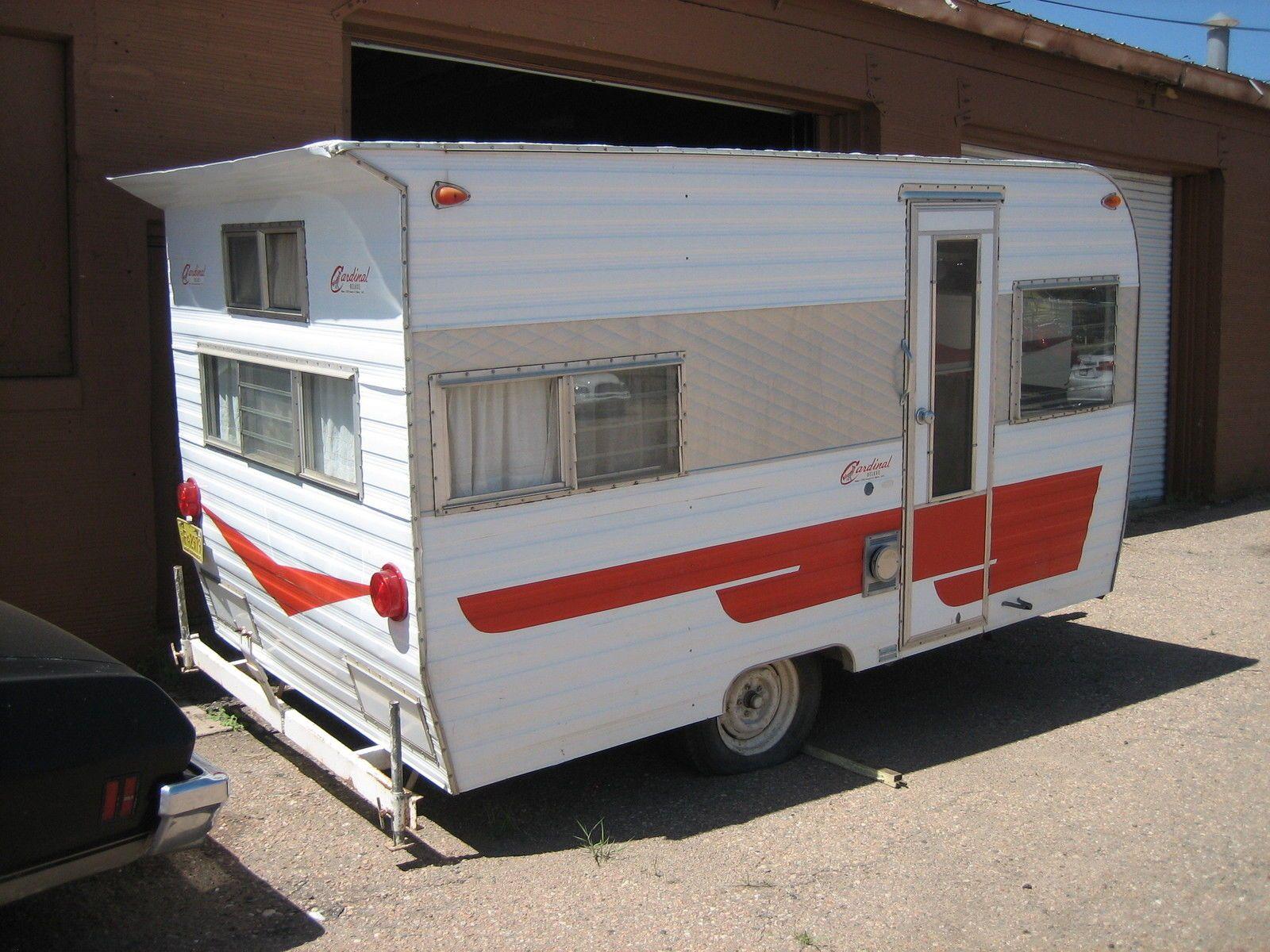 1967 cardinal camper trailer ebay