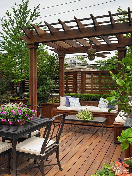 31+ Gardens and decks inspirations