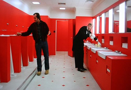 Image result for the shining, red