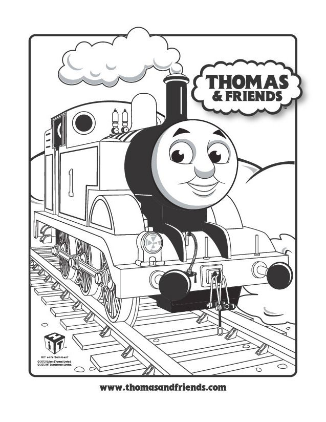 Colouring Pages For Thomas The Tank Engine Train Coloring Pages Birthday Coloring Pages Thomas The Train