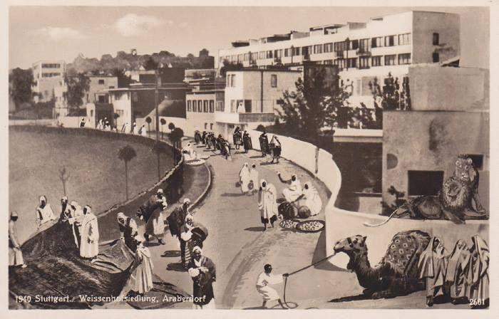 Weissenhof siedlung stuttgart germany futurism for Neue architektur stuttgart