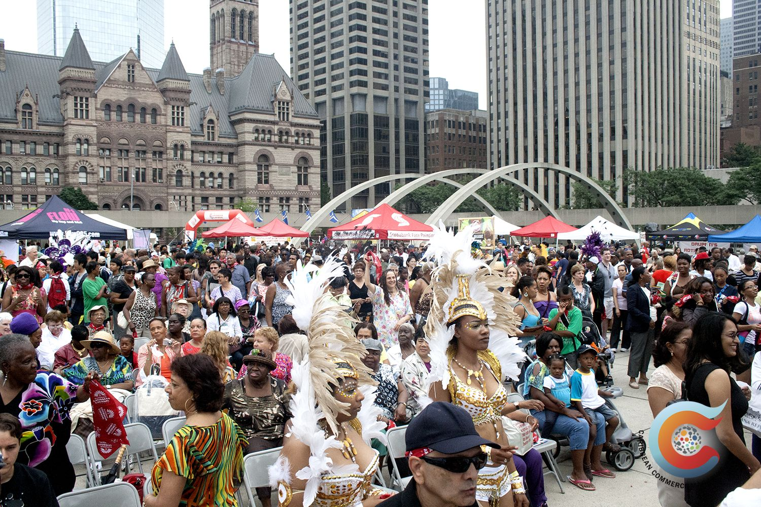 Toronto turned out for the launch of the Scotiabank