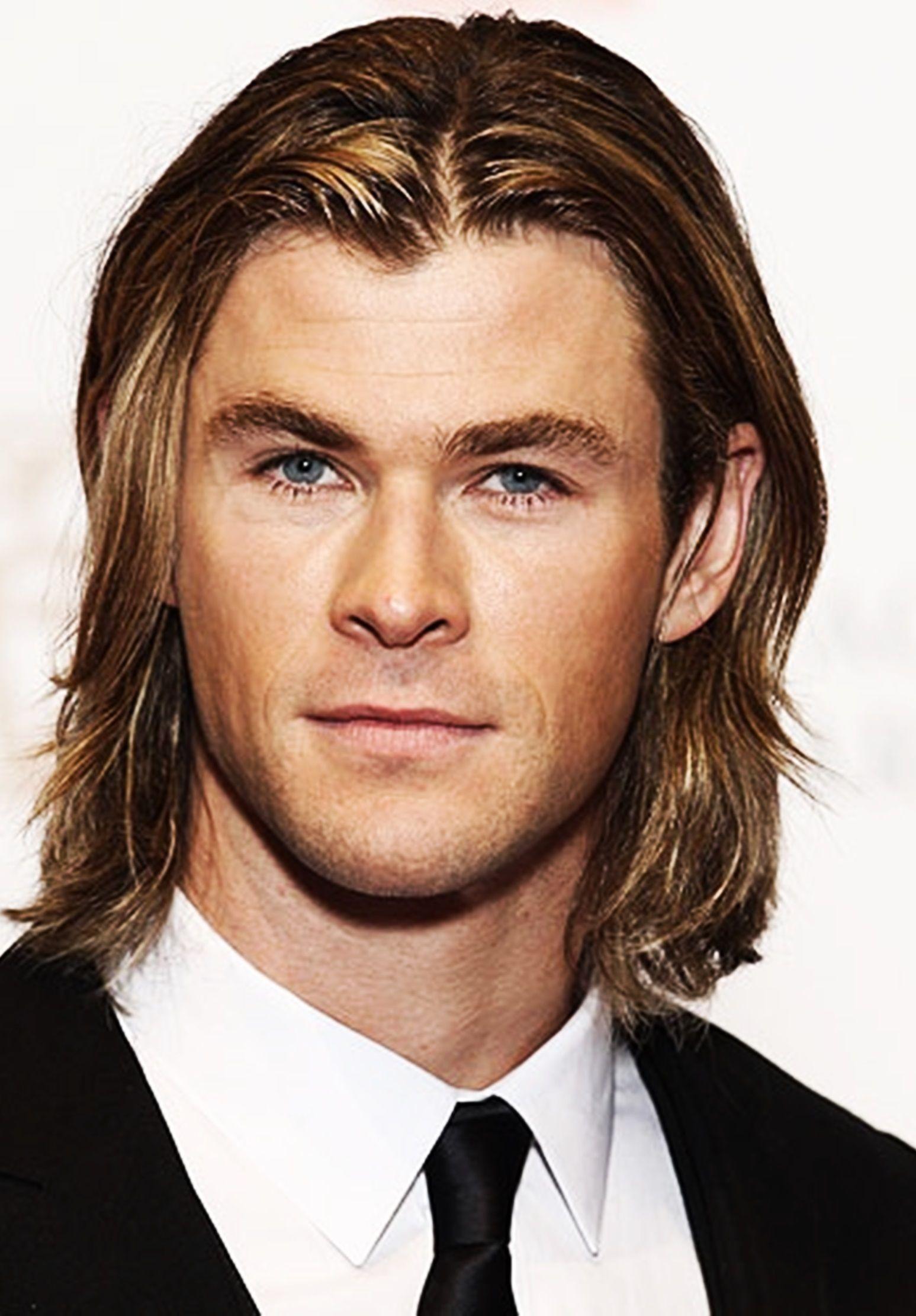 Chris Hemsworth  Chris hemsworth, Long hair styles men, Long hair