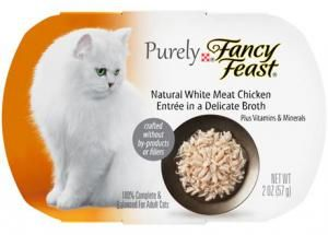 Get a FREE Purina Purely Fancy Feast Cat Food Sample!