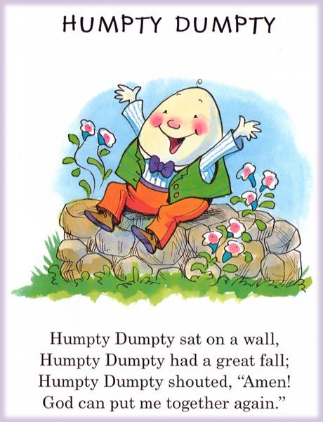 humpty dumpty nursery rhyme |     Humpty Dumpty School  And
