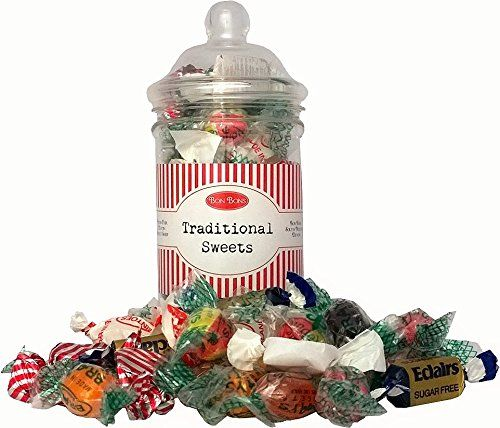 Sugar free sweet gift jar includes a mix of sweets makes a sugar free sweet gift jar includes a mix of sweets makes a great present negle Images