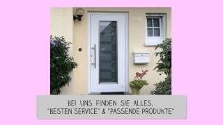 Türen Bielefeld haustür aus aluminium mit füllung oder glas vom tür