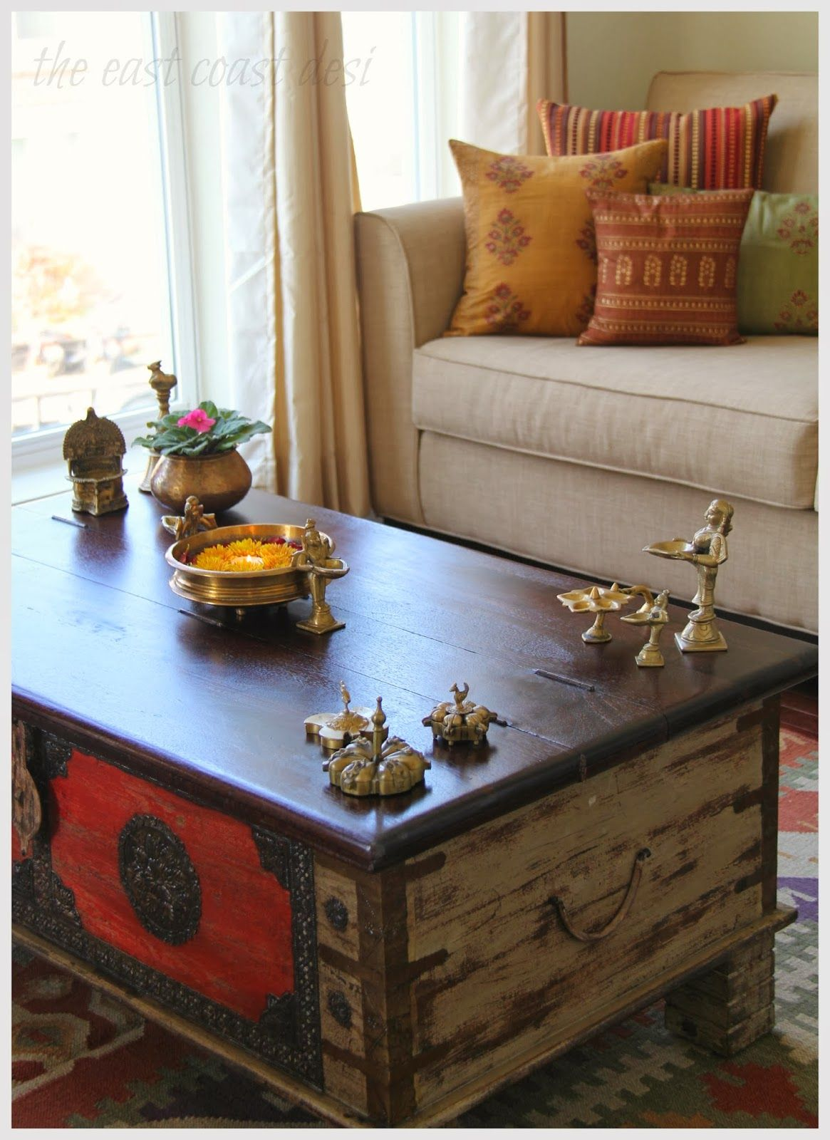 Center Table N On It In 2019 Home Decor Indian