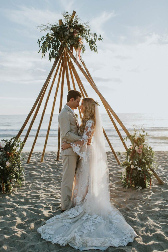 Breezy Cream And Beige Beach Wedding At Levyland Estates Beach
