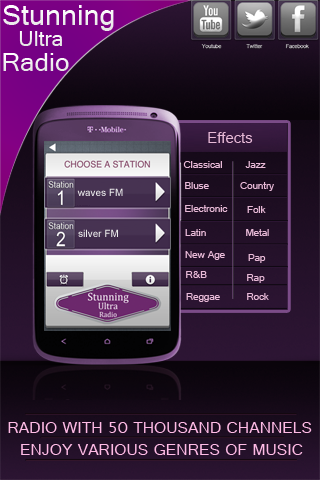 Online Radio Android Source Code http//www