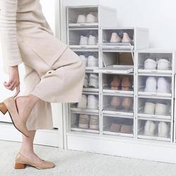 Drawer Type Shoe Storage Box Set of 3 | Home&Living | Drawer Type Shoe Storage Box Set of 3#box #drawer #homeliving #set #shoe #storage #type