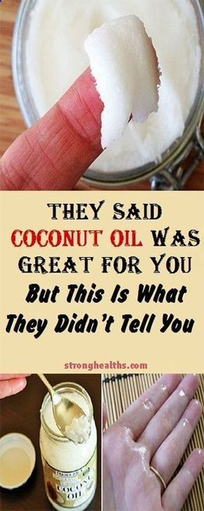 THEY SAID COCONUT OIL WAS GREAT FOR YOU, BUT THIS IS WHAT THEY DIDN'T TELL THEY SAID COCONUT OIL WAS GREAT FOR YOU, BUT THIS IS WHAT THEY DIDN'T TELL YOU