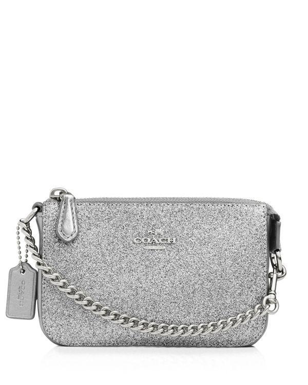 Coach Nolita Wristlet 15 in Glitter Fabric  311722961329d
