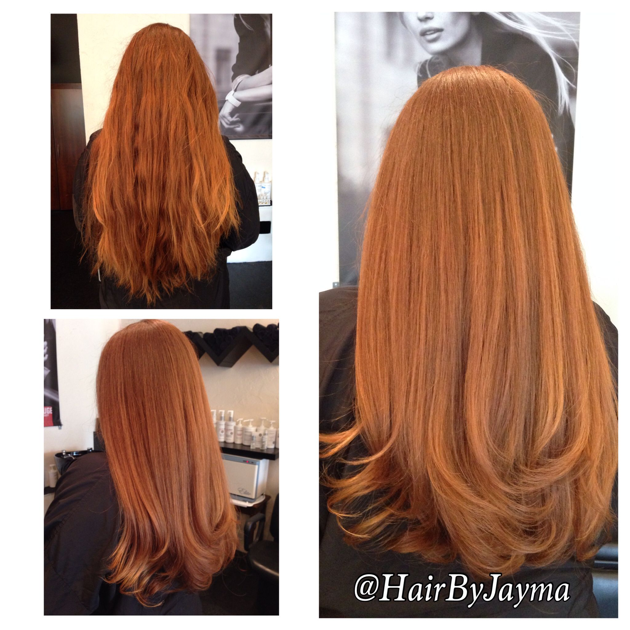 Beautiful red hair! Hair by Jayma