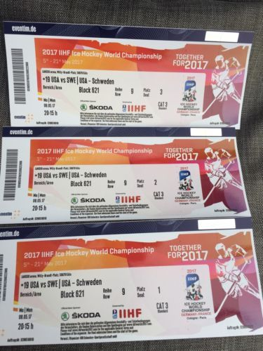 Eishockey Wm Köln Tickets