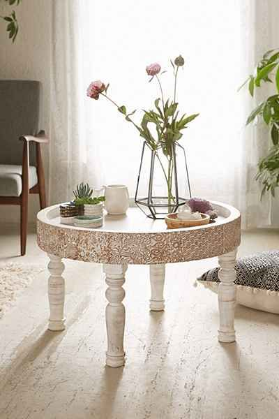 Hope Round Coffee Table Coffee Table Urban Outfitters Round