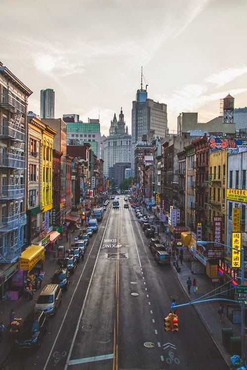 Chinatown, New York City. Still not sure if I would like New York but have heard it's a must have destination.
