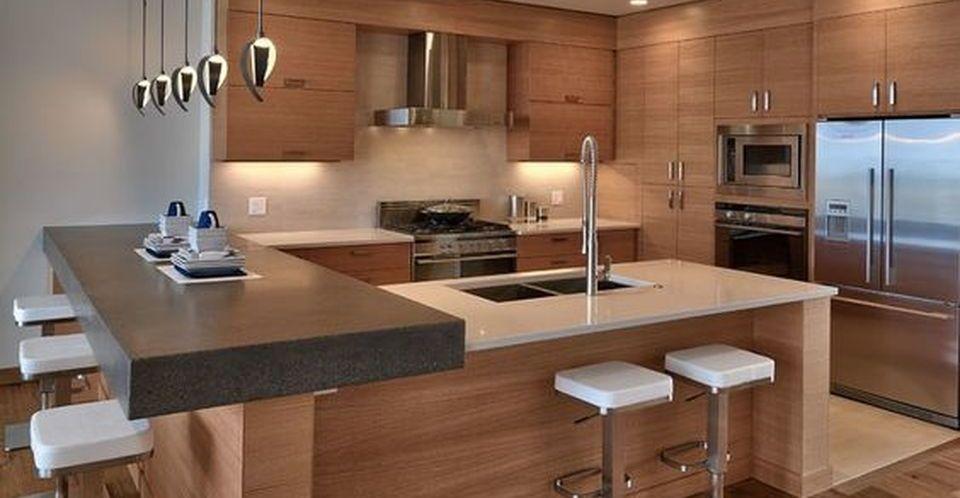 Contemporary Kitchen Design Ideas Styleheap Com In 2020 Modern Kitchen Set Modern Kitchen Design Home Decor Kitchen